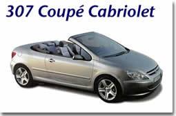 Le site d'une future star : Peugeot 307   cabriolet