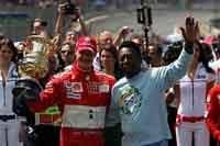 GP du Brésil : Michael Schumacher restera inoubliable