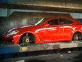 [vidéo] La police californienne broie la Lexus IS-F d'un jeune arrêté pendant des runs sauvages