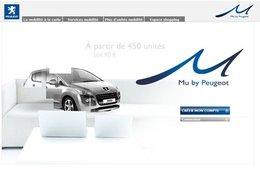 """""""Mu by Peugeot"""": mobilité à la carte"""