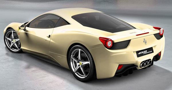 Ferrari 458 Italia : pour vous, quelle couleur ce sera ?