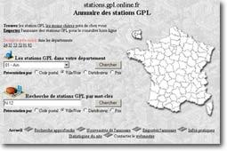 Le site annuaire des stations G.P.L