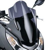 Pare-brise pour Honda PCX selon Puig.