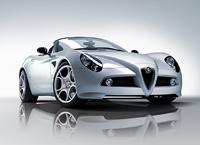 Salon de Genève 2008 :  Alfa Romeo 8C Spider (toutes les informations officielles)