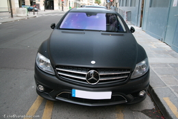Photos du jour : Mercedes CL 63 AMG