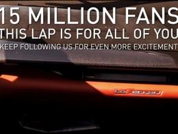 Ferrari célèbre ses 15 millions de fans facebook avec cette vidéo