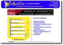 L'annuaire pro des entreprises   automobiles françaises