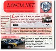 Un site pour les amoureux de Lancia