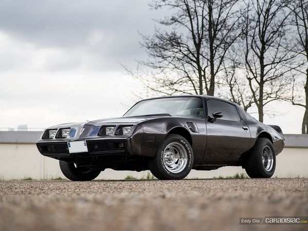 Photos du jour : Pontiac Firebird (Cars & Coffee Paris)