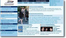Le site du Comité des constructeurs français d'automobiles
