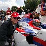 Superleague Formula - Nelson Panciatici: Saisir la balle au bond à Donington