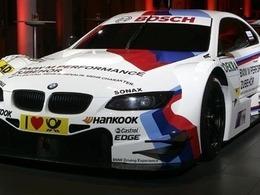 BMW présente la livrée de sa M3 DTM 2012