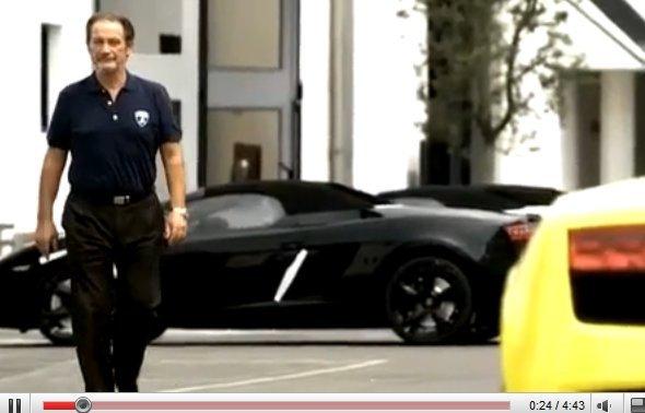 "[vidéo] Lamborghini LP 550-2: Valentino Balboni nous parle de ""SA"" voiture"