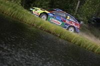 WRC-Finlande, jour 2: Hirvonen creuse l'écart sur Loeb !