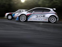 Rallye : la Peugeot 208 R5 devient 208 T16