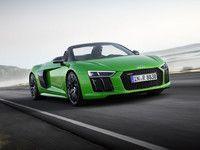 """Audi dévoile la R8 V10 Spyder """"Plus"""""""