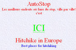 Coups de pouce : les bons plans de   l'auto stop dans toute la France