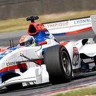 Superleague Formula - Nelson Panciatici: Une bonne entame matinale à Donington