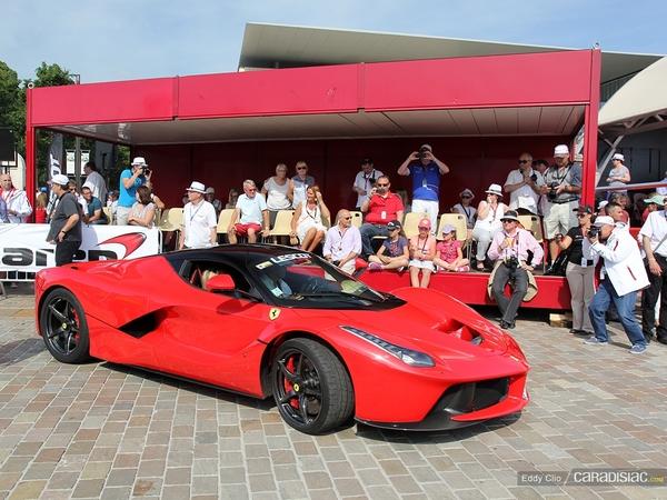 Photos du jour : Ferrari LaFerrari (Parade des pilotes du Mans)