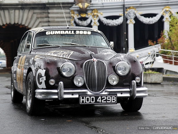 photos du jour jaguar mk2 gumball 3000. Black Bedroom Furniture Sets. Home Design Ideas