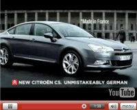 Pub Vidéo : Citroën C5, German style