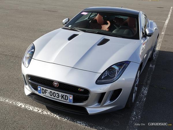 Photos du jour : Jaguar Type F coupé (Sport & Collection)