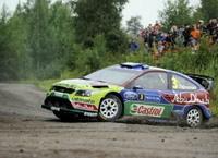 WRC-Finlande: Nouvelle erreur de Loeb, Hirvonen s'envole vers la victoire.