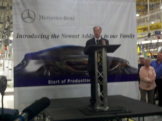 Futur Mercedes MLC: 1er teasing?