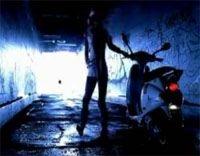 Vidéo moto : scooter et pomme