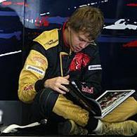 Formule 1 - Test Barcelone D.2: Vettel monte en grade