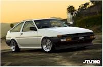 La plus belle des Toyota AE86
