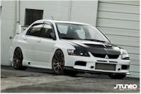 Une Mitsubishi Lancer Evolution comme j'aime !!!
