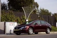 Pour la Honda FCX Clarity, la Home Energy Station IV : la solution de ravitaillement à domicile