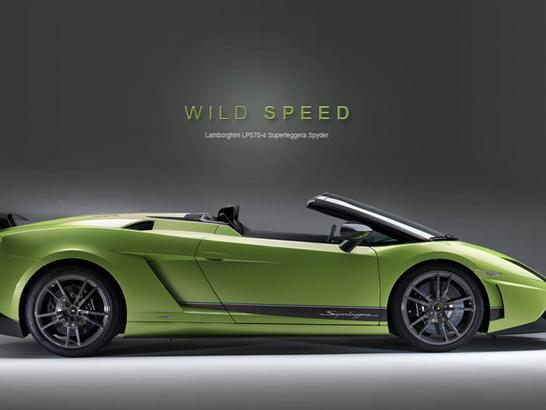 Lamborghini Gallardo LP570-4 Spyder : comme ça ?