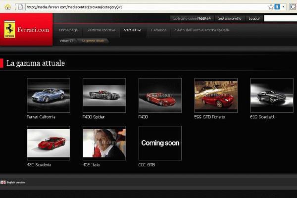 Une nouvelle Ferrari 600 GTB?