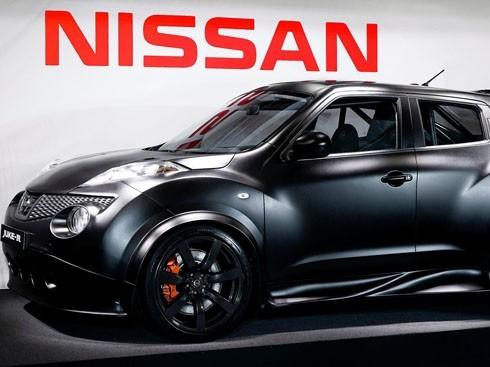 Nissan Juke-R: une 1ère photo officielle du véhicule assemblé