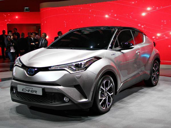 Toyota C-HR : original - Vidéo en direct du Salon de Genève 2016