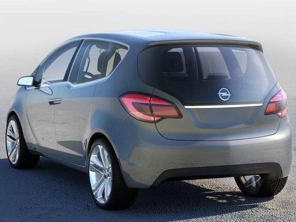 Opel Meriva Concept en clair !