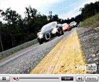 Vidéo : un peu de calme en Audi R8, Lamborghini Murcielago LP640 et Bugatti Veyron