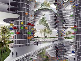 Design : une tour autosuffisante capable d'accueillir plus de 4000 véhicules électriques