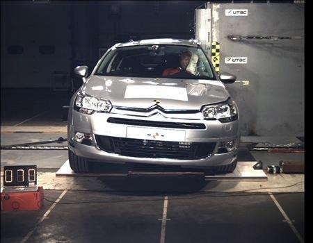 La Citroën et C5 étoiles Euro Ncap