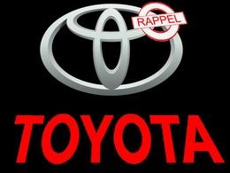 Nouveau rappel record pour Toyota : 1,5 million de voitures concernées, 1 837 en France