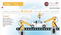 Happy Fabbrica : suivez la fabrication de votre Fiat 500C