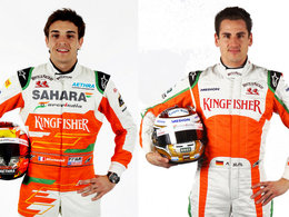 Essais F1 Barcelone : Force India fera rouler Adrian Sutil et Jules Bianchi