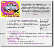 """Un site pour """"Fiatouphiles"""""""