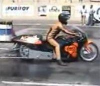 Vidéo moto : Dragster en folie