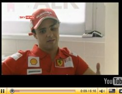 F1 : premier interview de Massa en vidéo