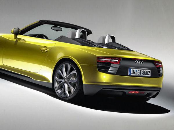 Future Audi R4: croisement d'une TT et d'une R8