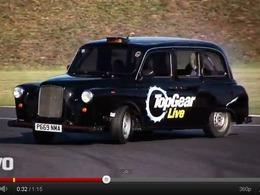 Evo : Chris Harris met à l'équerre un taxi londonien (de 400 ch)