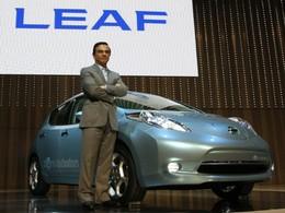 Carlos Ghosn : pour baisser les prix de l'électrique, il faudra en vendre 1 million par an